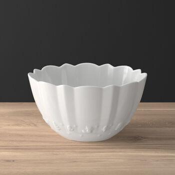 Toy's Delight Royal Classic round bowl, white, 2.87 l, 24 x 24 x 12.7 cm