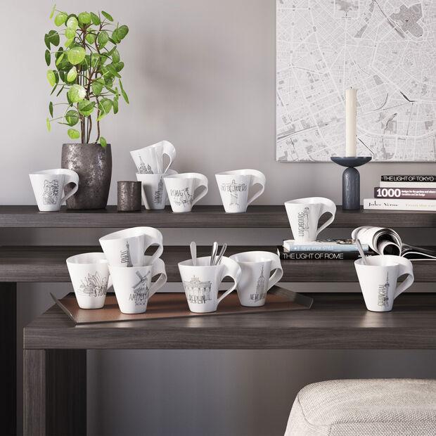 Modern Cities coffee mug, Amsterdam, 300 ml, , large