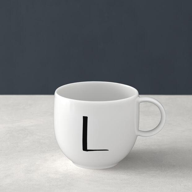 Letters Mug L 13x10x8cm, , large