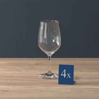 Entrée red wine glass, 4 pieces