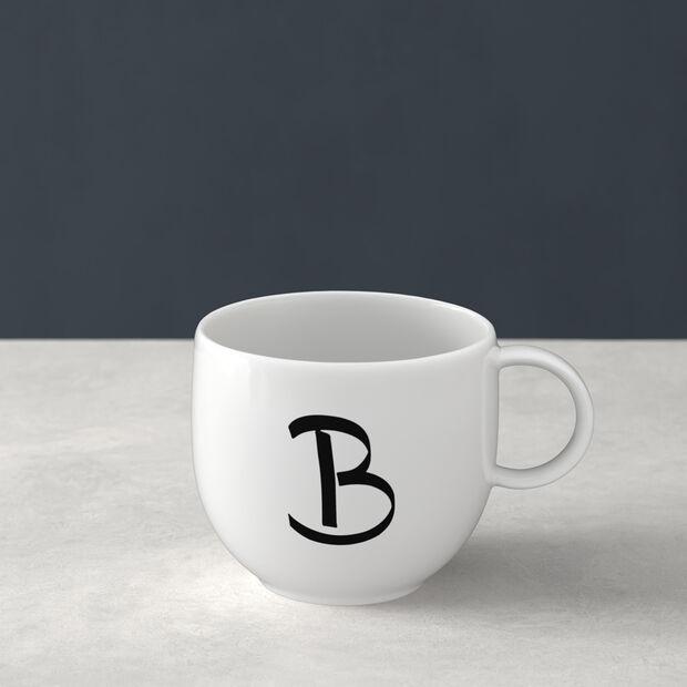 Letters Mug B 13x10x8cm, , large