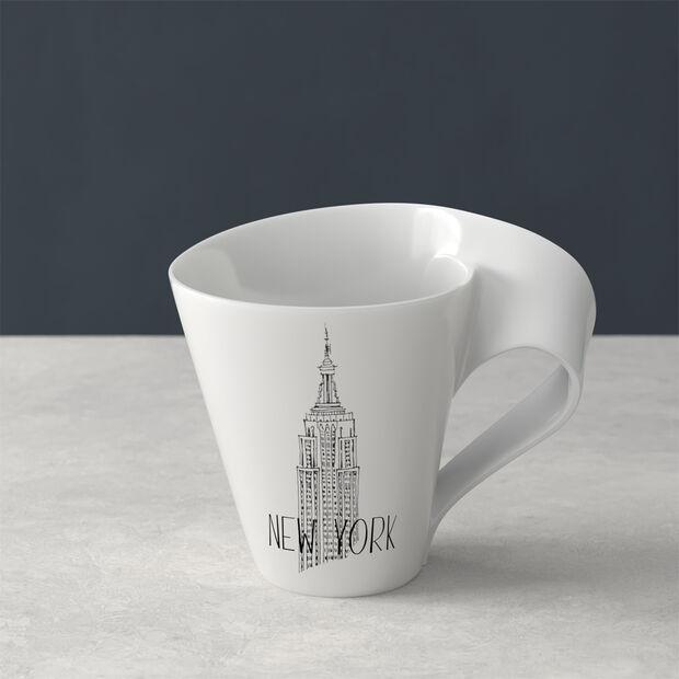 Modern Cities coffee mug, New York, 300 ml, , large