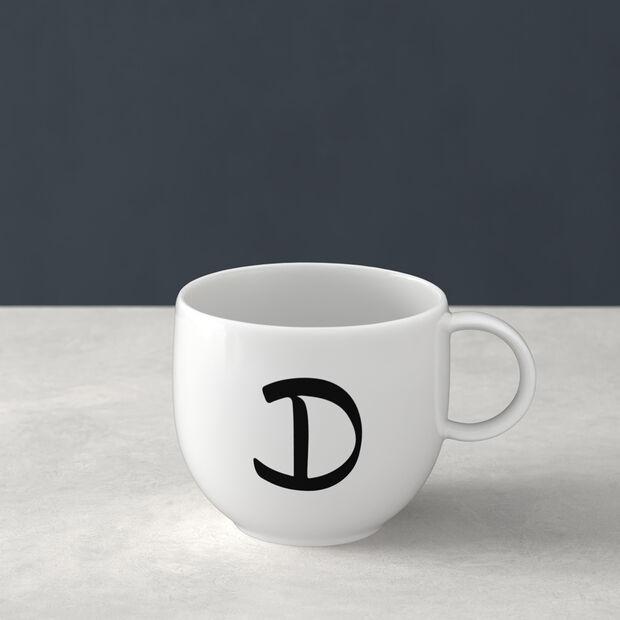 Letters Mug D 13x10x8cm, , large