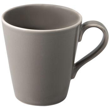 Organic Taupe Mug 12,5x9x10cm