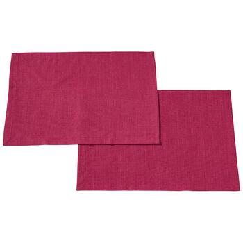Textil Uni TREND Placemat Red Plum S2 35x50cm
