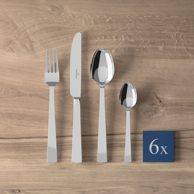 Notting Hill table cutlery 24 pieces 42 x 27 x 5 cm, , large
