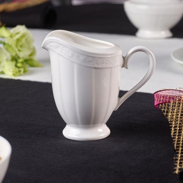 White Pearl milk jug 6 people, , large
