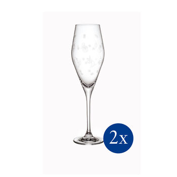 Toy's Delight Champagne Flute, Set of 2