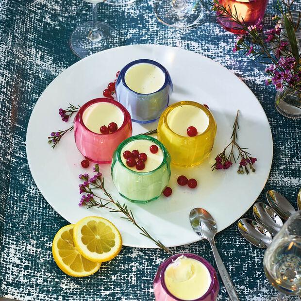 Coloured DeLight small tea light holder Noble Rose, , large
