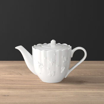 Toy's Delight Royal Classic coffee pot, white, 1 l