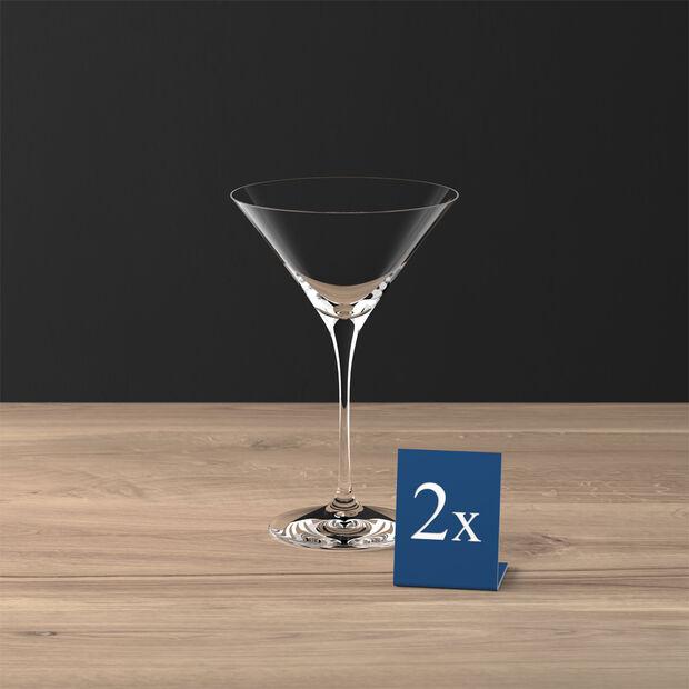 Purismo Bar cocktail/Martini glass 2-piece set, , large