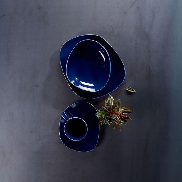 Organic Dark Blue coffee cup, dark blue, 270 ml, , large