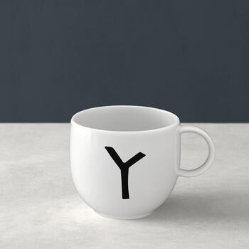 Letters Mug Y 13x10x8cm