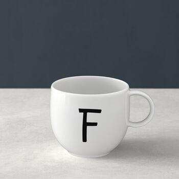 Letters Mug F 13x10x8cm