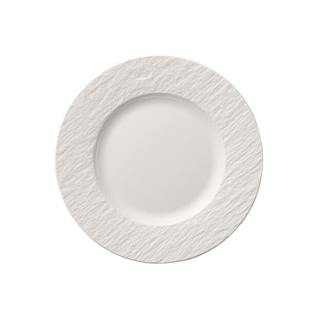 Manufacture Rock Blanc breakfast plate, , large