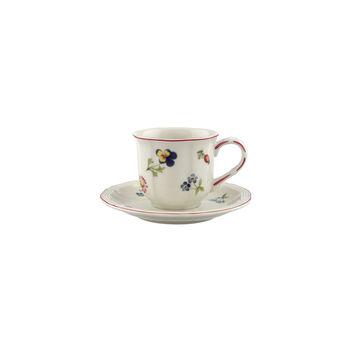 Petite Fleur mocha/espresso 2-piece set