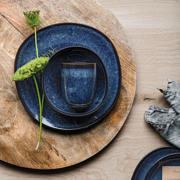 Lave Bleu breakfast plate, , large
