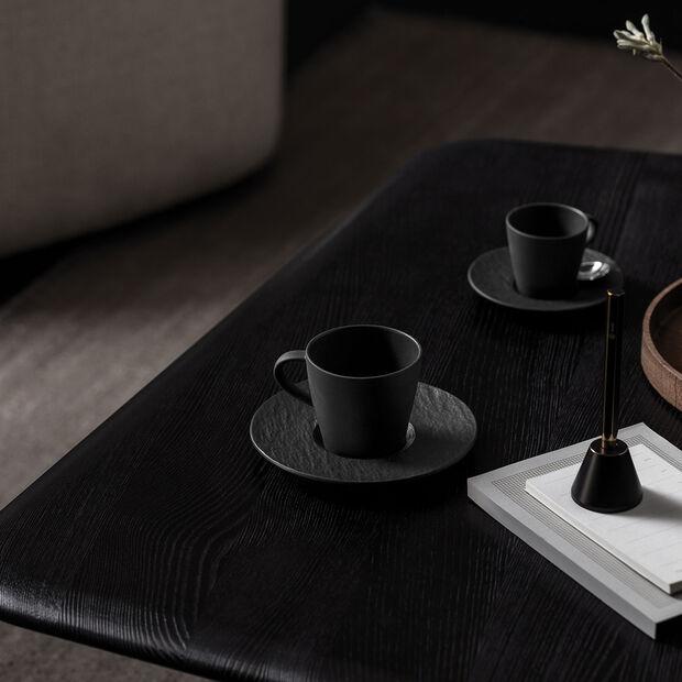 Manufacture Rock coffee cup, black/grey, 10.5 x 8 x 7.5 cm, , large