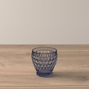 Boston Coloured Shot glass Blue