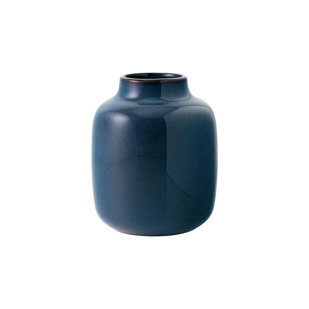 Lave Home shoulder vase, 12.5 x 12.5 x 15.5 cm, Bleu uni, , large