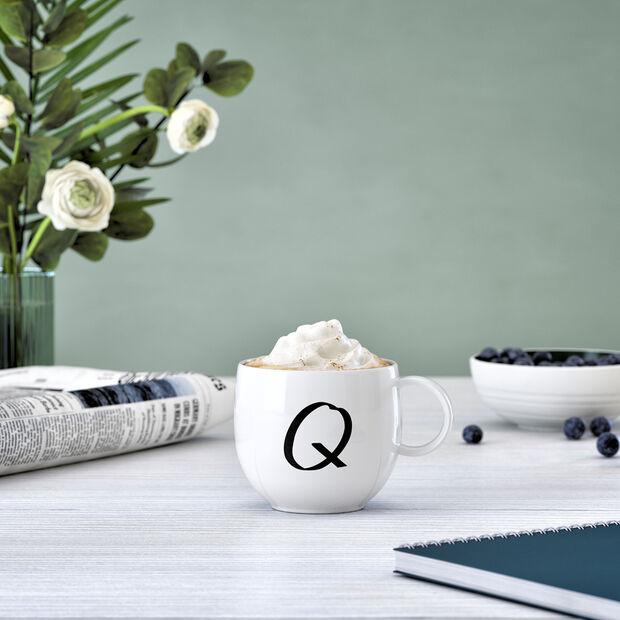 Letters Mug Q 13x10x8cm, , large