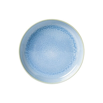 Crafted Blueberry soup plate, turquoise, 21.5 cm