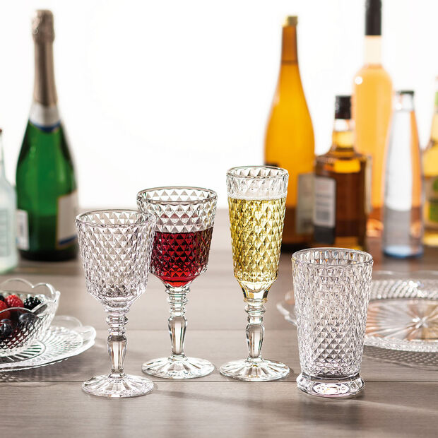 Boston Flare water glass, 4 pieces, , large