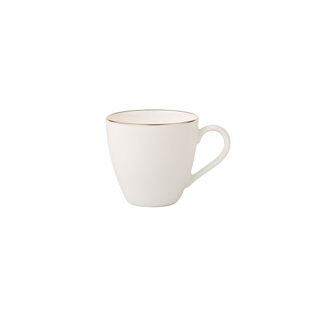 Anmut Gold mocha/espresso cup, 100 ml, white/gold, , large