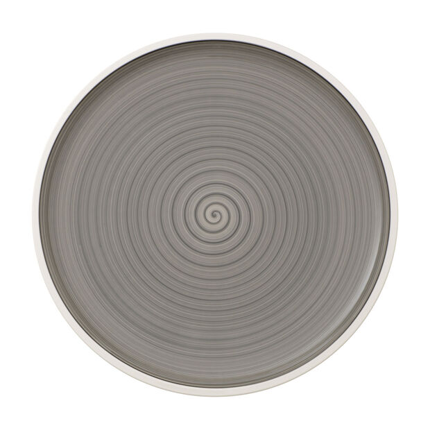 Manufacture gris pizza plate, , large