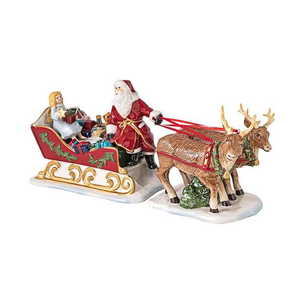 Christmas Toys sleigh Nostalgia, 36 x 14 x 17 cm, , large