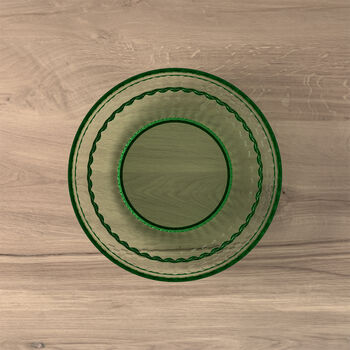 Boston Coloured salad/dessert plate, green, 21 cm