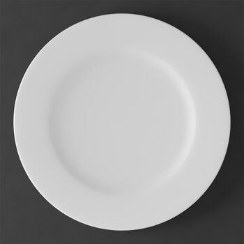 White Pearl gourmet plate/underplate