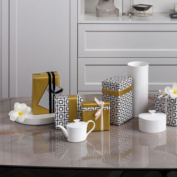 MetroChic blanc Gifts Teapot small 21x9x10,5cm, , large