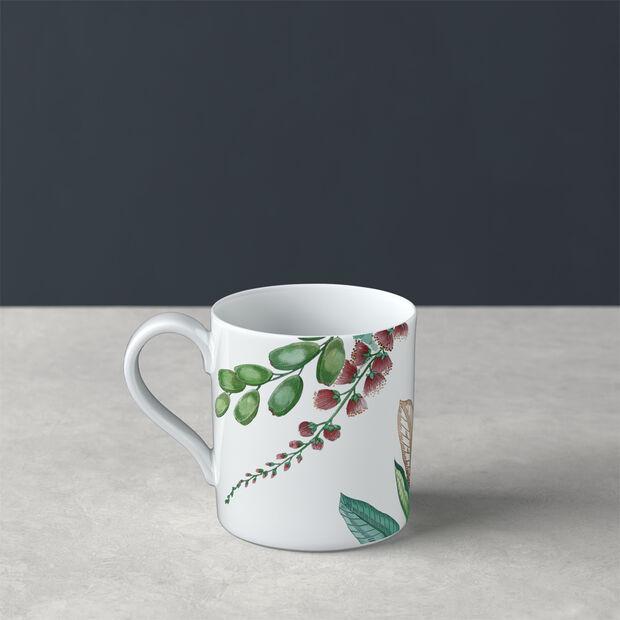 Avarua coffee cup, 210 ml, white/multicoloured, , large