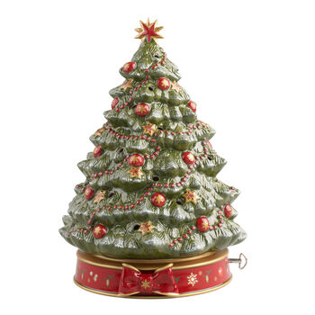 Toy's Delight Christmas tree with music box