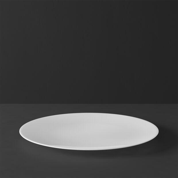 MetroChic blanc Flat plate 27x27x2cm, , large