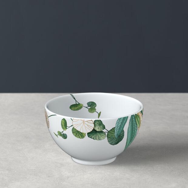 Avarua rice bowl, 350 ml, white/multicoloured, , large