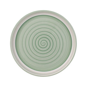 Clever Cooking Green round serving plate 30 cm