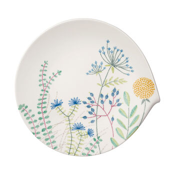 Flow Couture flat gourmet plate