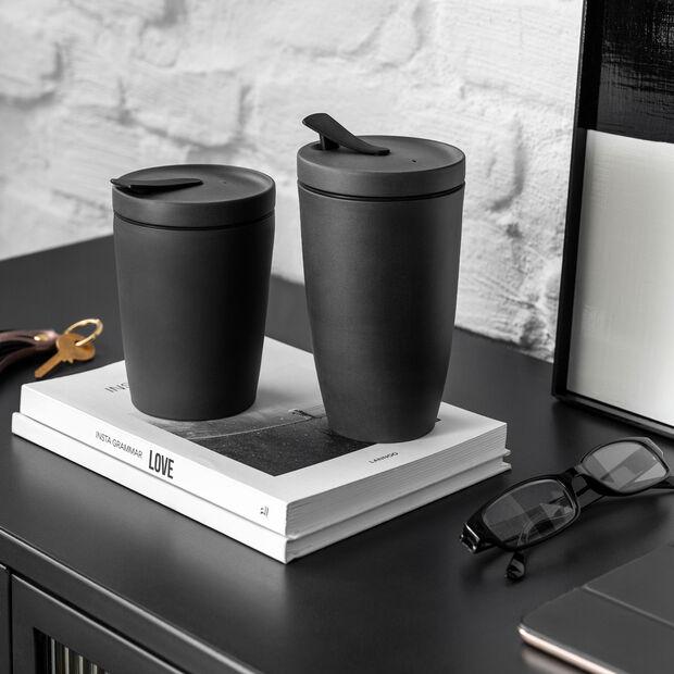 Manufacture Rock Coffee To Go travel mug, 350 ml, matt black, , large