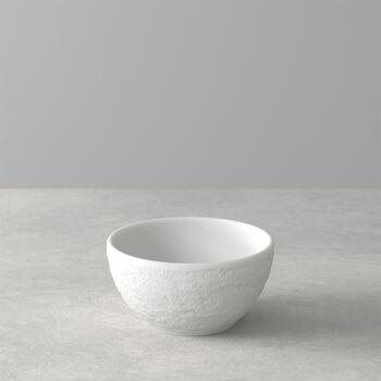 Manufacture Rock Blanc dip bowl, white, 8 x 8 x 4 cm