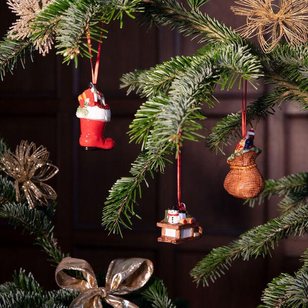 Nostalgic Ornaments ornament set presents, multicoloured, 3 pieces, 6.3 cm, , large