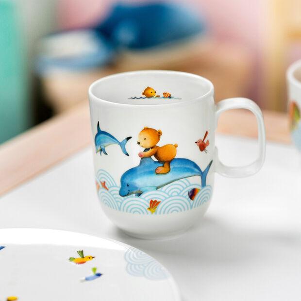 Happy as a Bear Children mug large 11,5x8x9,5cm, , large
