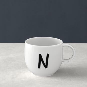 Letters Mug N 13x10x8cm