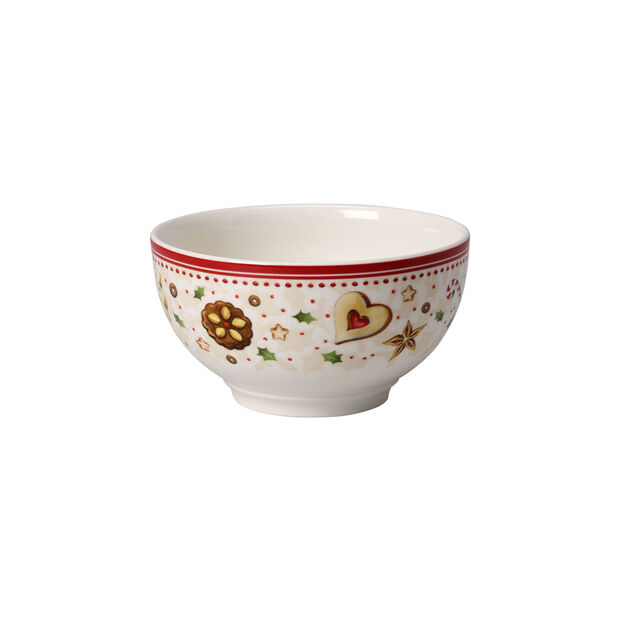 Winter Bakery Delight bowl with falling star motif, , large