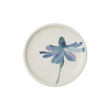 Artesano Flower Art breakfast plate