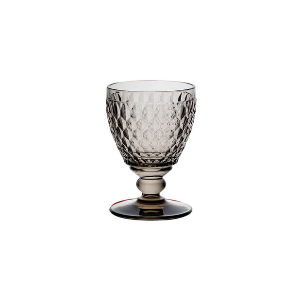 Boston Coloured White wine glass Smoke, , large