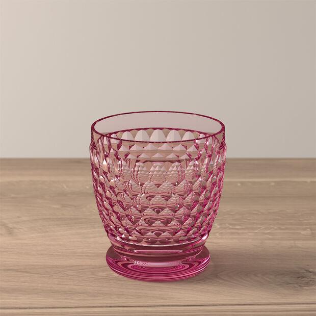 Boston Coloured Water/cocktail tumbler Pink, , large