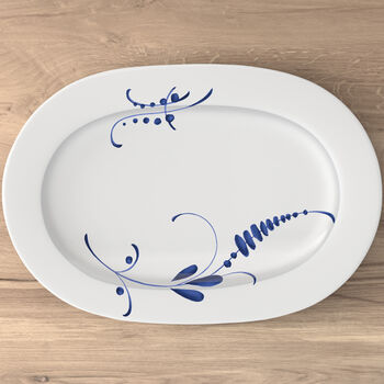 Old Luxembourg Brindille Oval platter 340x235mm