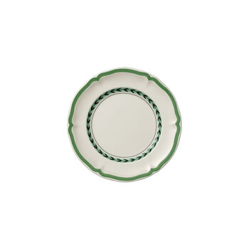 French Garden Green Line bread plate